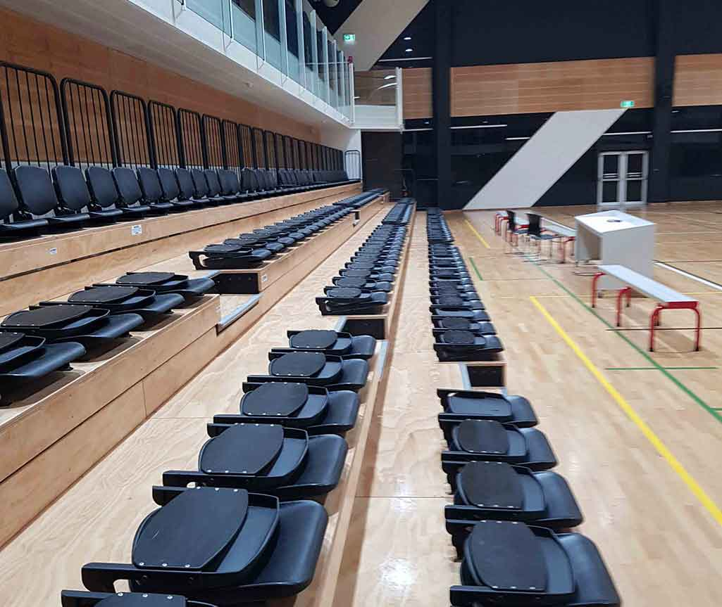 Synergy excels in the provision of facility services to sports centres around South Australia